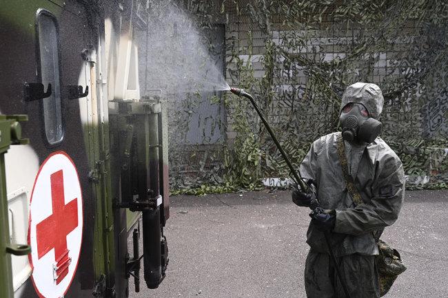 В Красноярский край перебросили военных для борьбы с коронавирусом