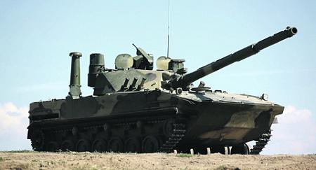 В начале года стало известно, что на вооружение будет принята самоходная десантируемая противотанковая установка «Спрут-СДМ1». Фото с сайта www.rostec.ru