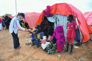 В Сомали под эгидой ООН в настоящее время действуют три миссии. Фото со страницы миссии ООН в Сомали в Flickr