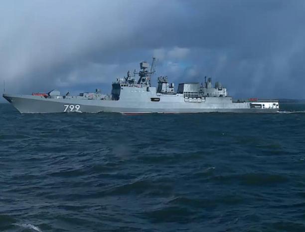 В средиземноморье группировка ВМФ России проводит учения