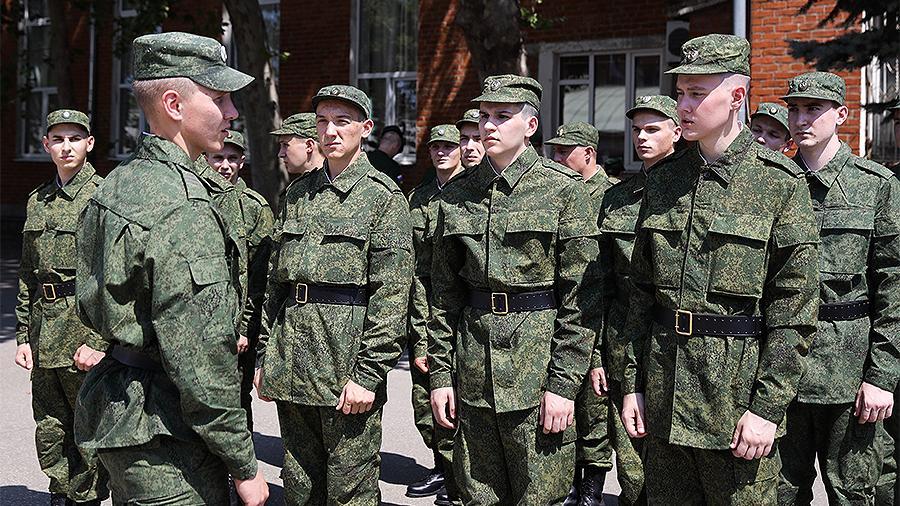 В ВС РФ рассказали об особенностях очередного весеннего призыва