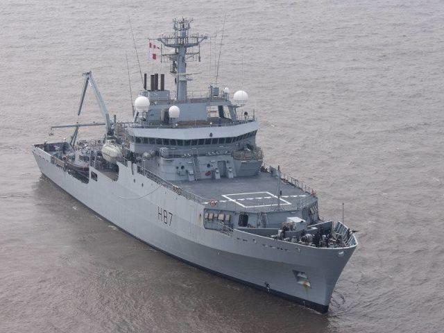"""Корабль-разведчик """"Эко"""" (HMS Н87 Echo)"""
