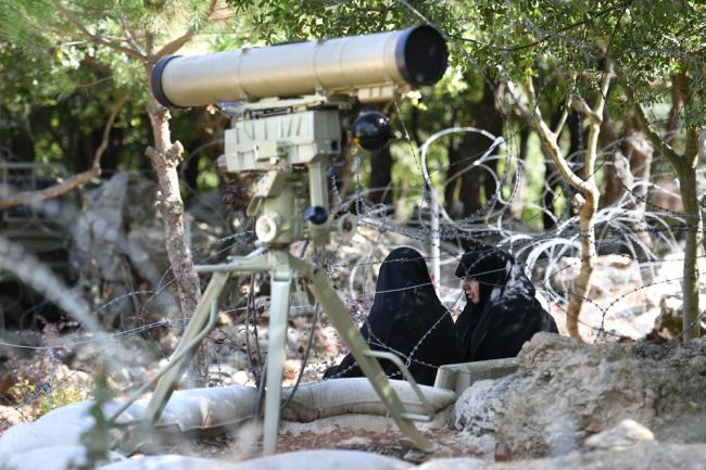"""ПТРК """"Корнет-Э"""" с тепловизионным прицелом 1ПН79-1 ВС Ирака."""