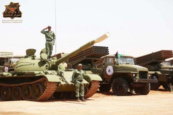 Техника ливийской армии Хафтара