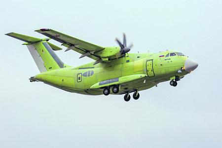 В перспективе самолеты Ил-112В должны полностью заменить устаревшие Ан-26. Фото с сайта www.uacrussia.ru