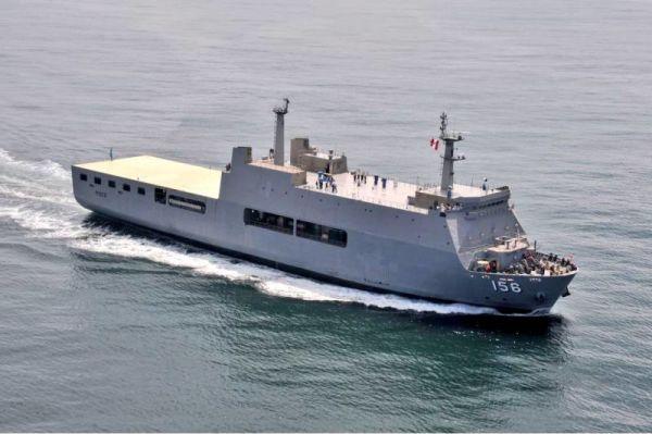 Десантный вертолетный корабль-док АМР 156 Pisco