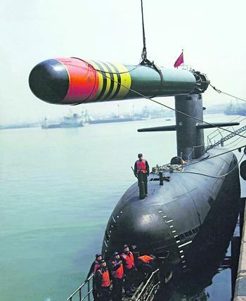 В результате масштабной государственной программы ВМС Китая получили большой набор современных торпед, не уступающих лучшим зарубежным образцам. Фото с сайта www.haijun360.com
