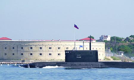 В Севастополе базируются все подводные лодки Черноморского флота. Фото РИА Новости
