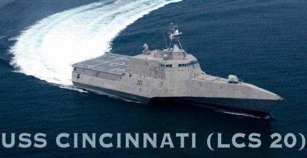 """USS """"Cincinnati"""" (LCS-20)"""