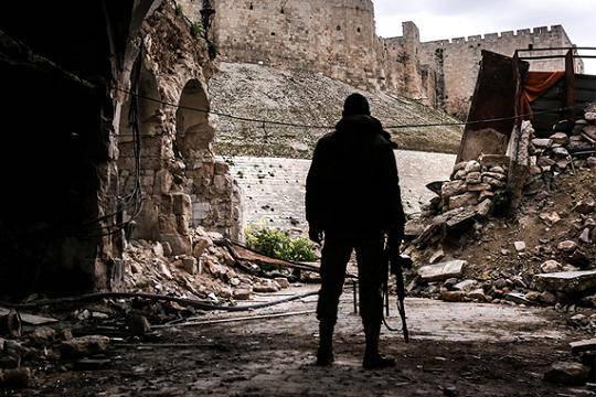 ЧВК «Вагнера» на территории, прилегающей к сирийско-израильской границе.