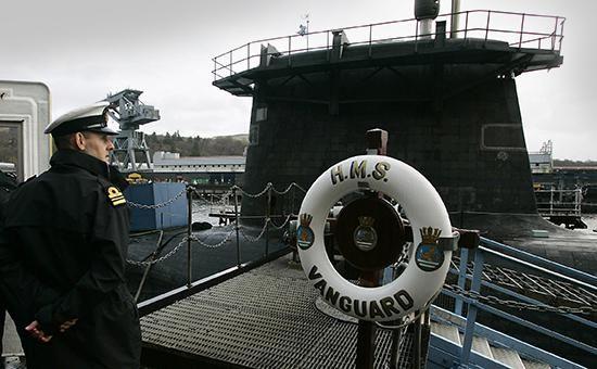 Офицер ВМФ Великобритании