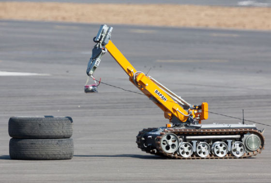 Робот-сапер «Варан»