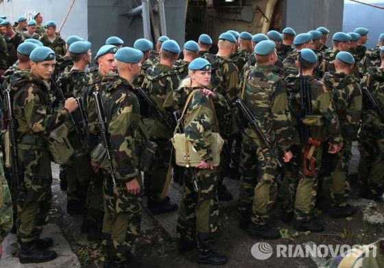 Военнослужащие ВС Белоруссии