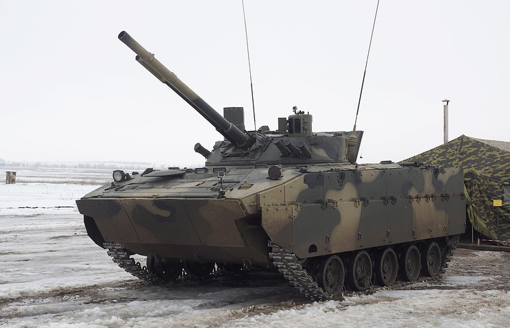 Боевая машина десанта (БМД) БМД-4М.