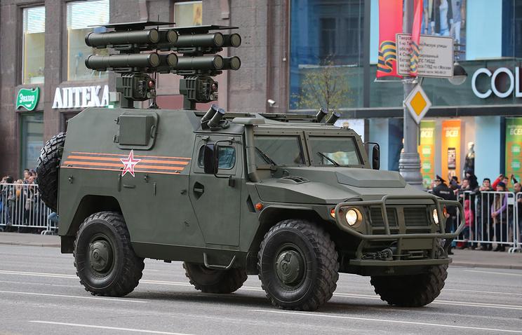 """Бронеавтомобиль """"Тигр"""" с противотанковым ракетным комплексом """"Корнет-Д1""""."""