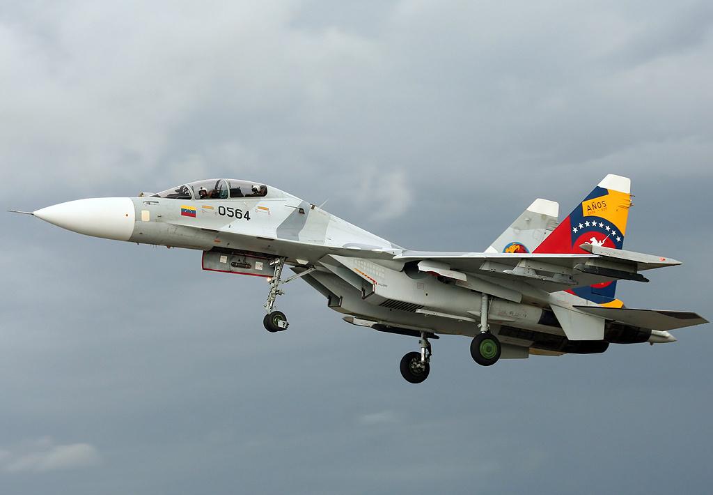 Истребитель Су-30МК2 ВВС Венесуэлы.