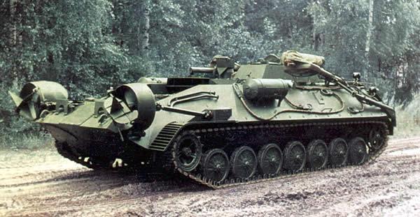 Бронированная машина разминирования БРМ-3М «Вепрь».