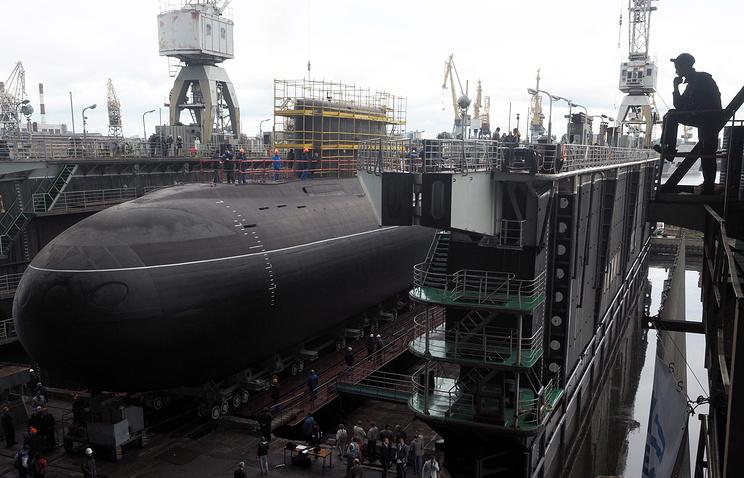 """Подводные лодки проекта 885 """"Ясень"""""""