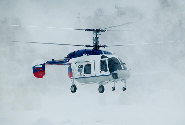 Вертолет Ка-226Т корабельного базирования.