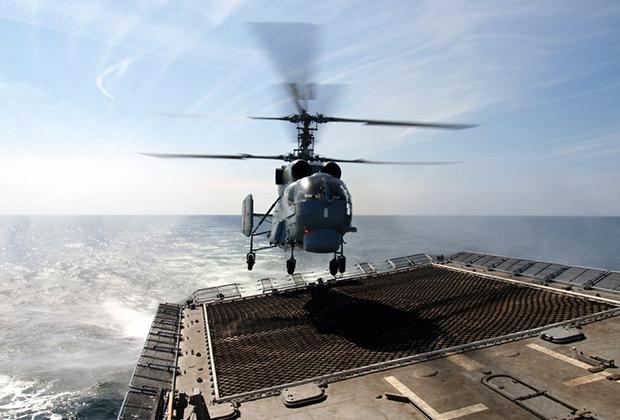 Вертолет Ka-27.
