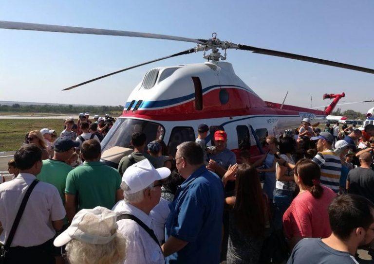 Украинский вертолет МСД-2 «Надия».