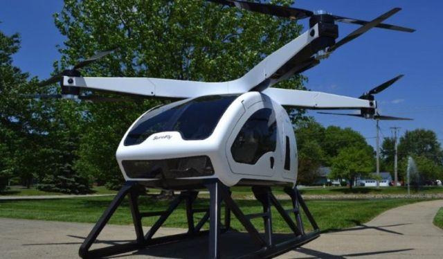 Вертолет SureFly Octocopter