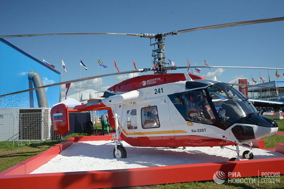 Вертолет Ка-226Т. Архивное фото.