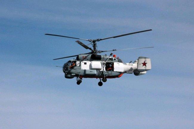 Вертолет Ка-27.