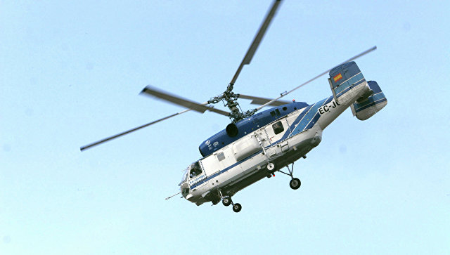 Вертолет Ка-32. Архивное фото.