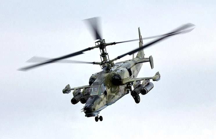 """Вертолет Ка-50 """"Черная акула""""."""
