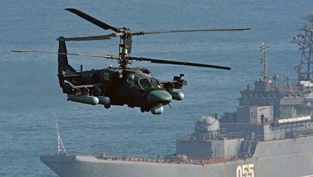 Вертолет Ка-52 Аллигатор.