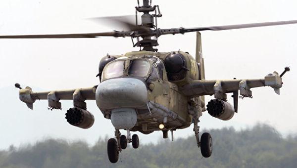 Вертолет Ка-52 Аллигатор. Архивное фото