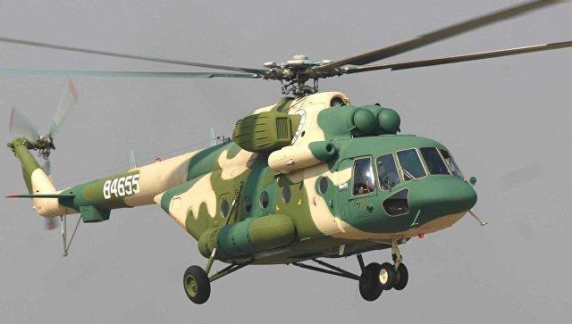 Вертолет Ми-171Е. Архивное фото.