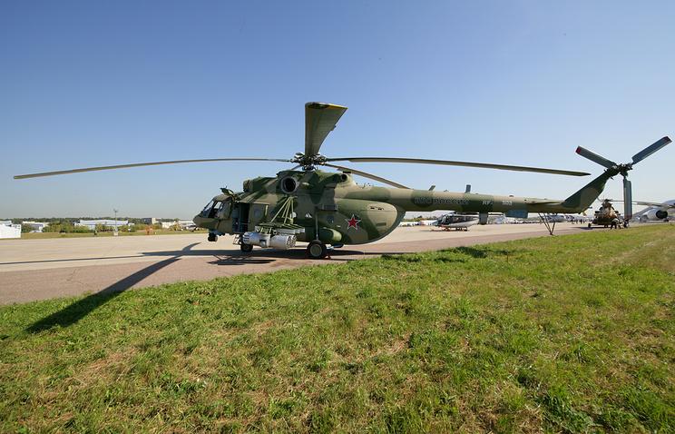 Вертолет Ми-171Ш.