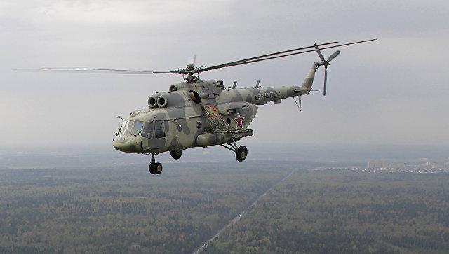 Вертолет Ми-17. Архивное фото.