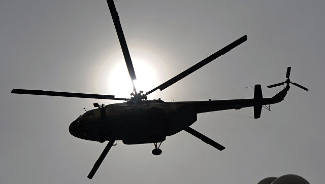 Вертолет Ми-17 ВВС Пакистана. Архивное фото.