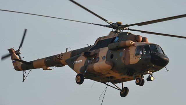 Вертолет Ми-17В-5. Архивное фото.