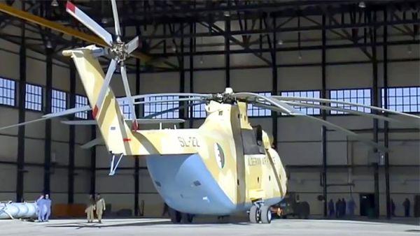 Вертолет Ми-26 ВВС Алжира