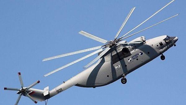 Вертолет МИ-26Т2. Архивное фото