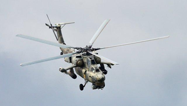 Вертолет Ми-28Н. Архивное фото.