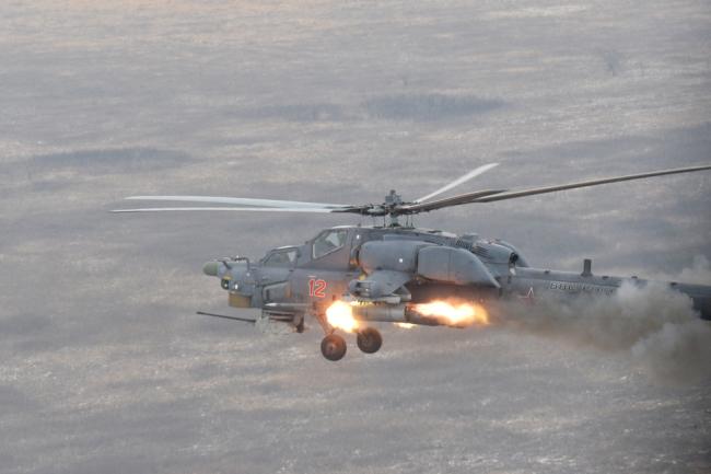 Вертолет Ми-28НЭ.