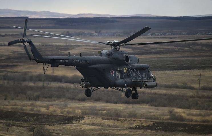 """Вертолет Ми-8 АМТШ """"Терминатор""""."""