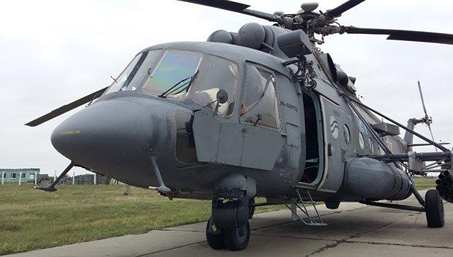 Вертолет Ми-8АМТШ. Архивное фото.
