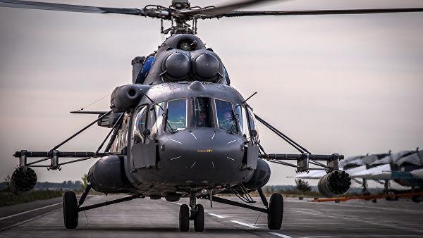 """Вертолет Ми-8АМТШ """"Терминатор"""""""