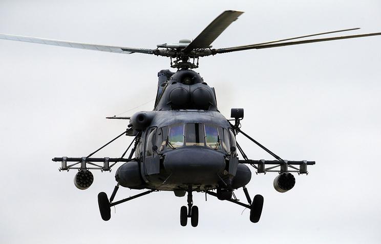 """Вертолет Ми-8АМТШ """"Терминатор""""."""