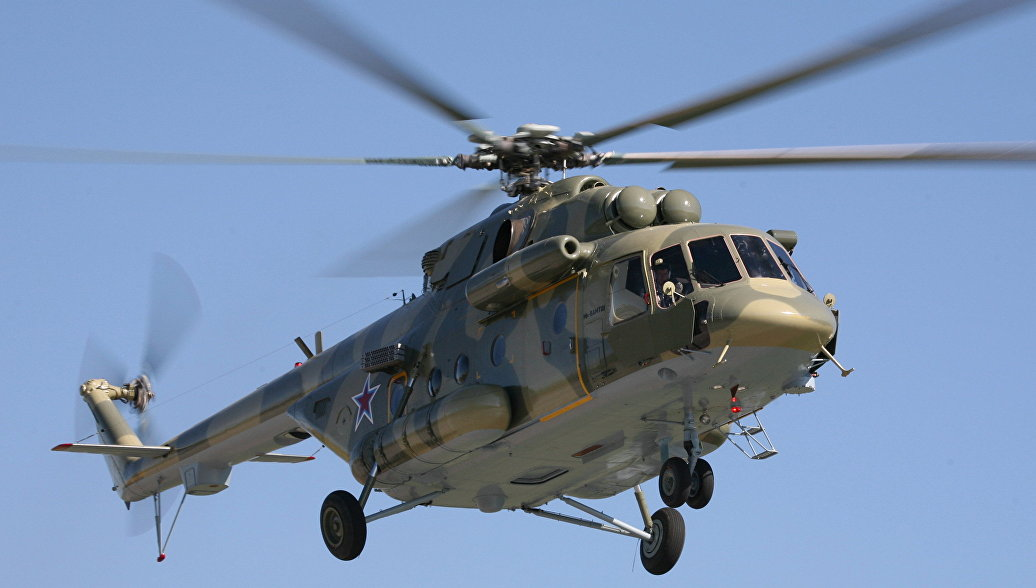 Вертолет Ми-8АМТШ Терминатор. Архивное фото.