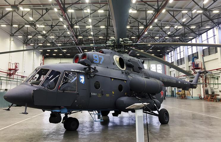 Вертолет Ми-8АМТШ-ВА.