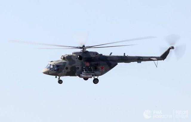 Вертолет Ми-8МТ. Архивное фото