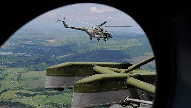 Вертолет Ми-8МТВ-5 (МИ-17В-5). Архивное фото.