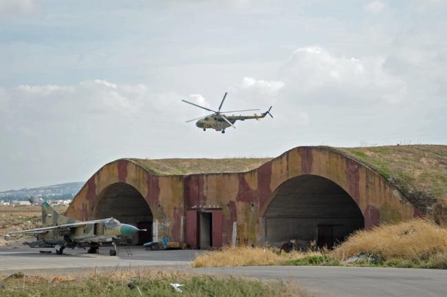 Вертолет радиоэлектронной борьбы Ми-8 МТПР-1.